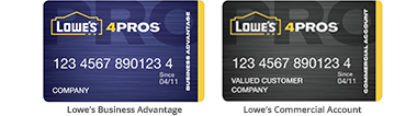manage your account online just log in to get started - Lowes Business Card Login